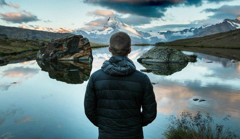 медитация на озере