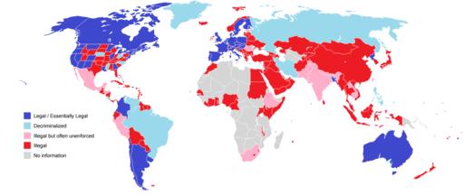 карта законностиконопли