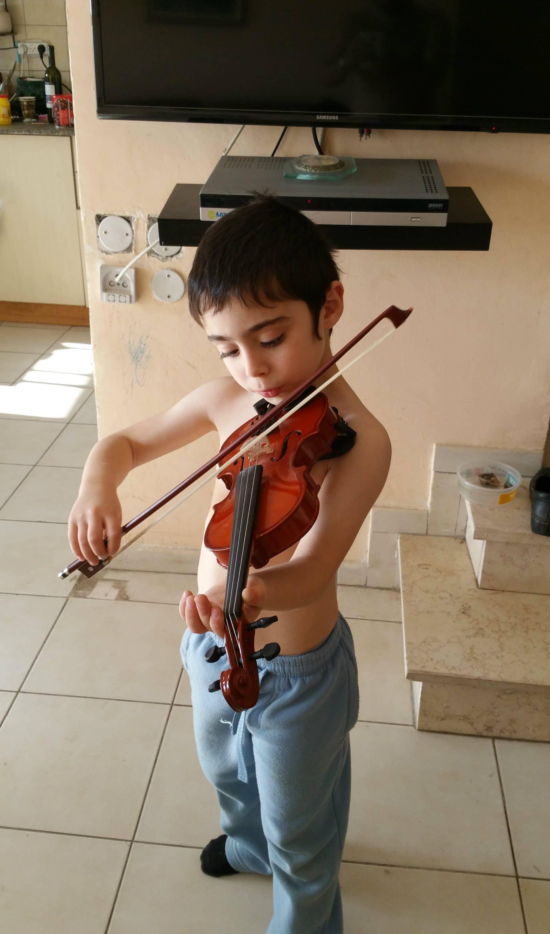 Почему скрипка?
